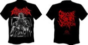 Image of AFFLICTIVE EMASCULATION Obscure Slam Vomition T-shirt