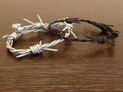 Image of Leather Wire Bracelet
