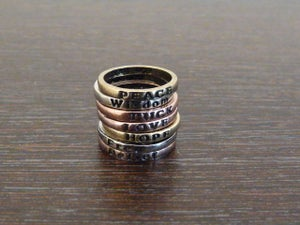 Image of Bronze Wish Rings