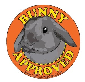 Image of Bunny Approved Sticker