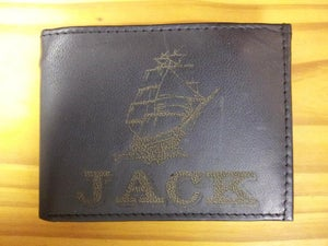 Image of Leather Wallet - Ship