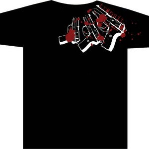 Image of Guns Shirt RE-PRINT