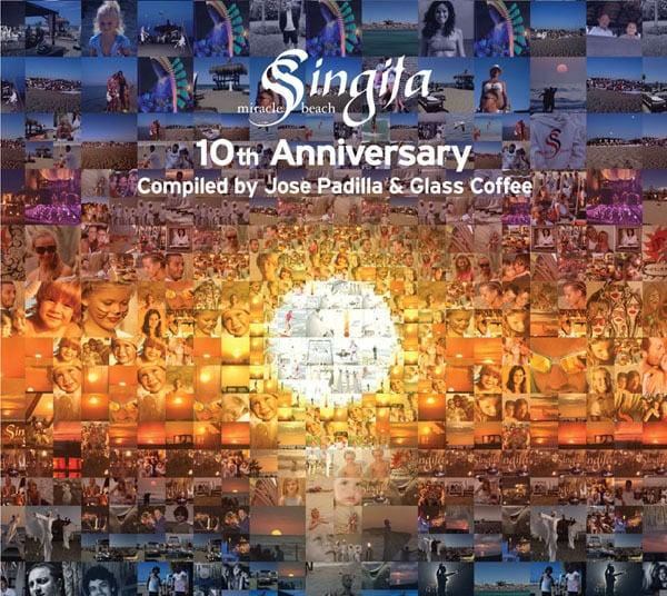 Image of V/A - Singita Miracle Beach 10th Anniversary Compiled By Jose Padilla & Glass Coffee