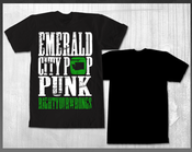 "Image of Emarld City Pop Punk T-Shirt ""Black"" (ON SALE)"