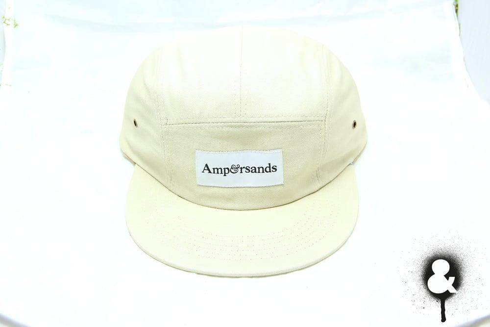 Image of Amprsnds 5-Panel Cap - Cream