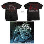 Image of Metempsychosis BUNDLE (T-SHIRT + DIGIPACK)