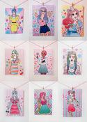 Image of Candy Doll Mini Print (A5)
