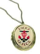Image of Lucky Sailor Anchor Locket