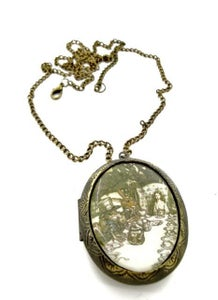 Image of Alice in Wonderland Tea Party Locket