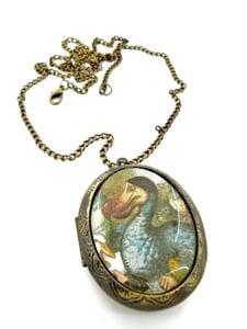 Image of Alice in Wonderland Dodo Locket