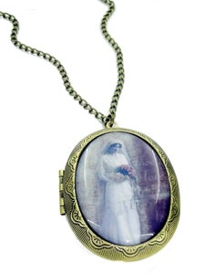 Image of Ghostly Bride Locket