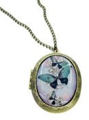 Image of Purple Butterfly Locket