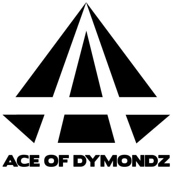 Image of ACE OF DYMONDZ VINYL DIE CUT LOGO DECALS