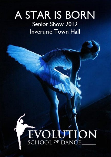 Image of Evolution - A Star is Born SENIOR SHOW 2012 - DVD