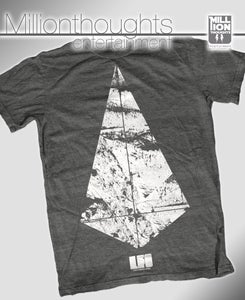 Image of LFO DIAMOND SHIRT - DARK GREY HEATHER