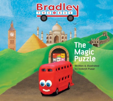 Image of Bradley the Bus - The Magic Puzzle (Children's book)
