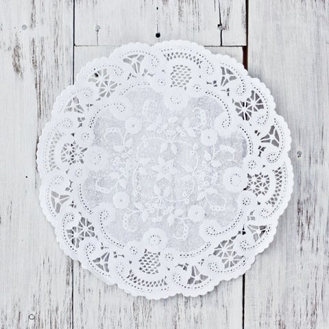 Image of French Lace Paper Doily