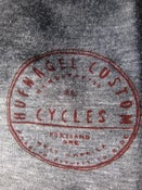 Image of Hufnagel Badge T-shirt (close up)