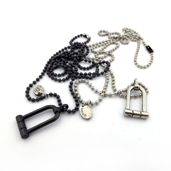 Image of U-LOCK CHARM NECKLACE