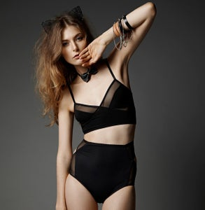 Image of Lingerie 'Lulu Lapin' Crop Top