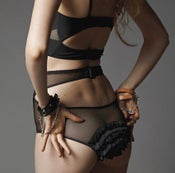 Image of Lingerie 'Lulu Lapin' Highwaisted Knickers