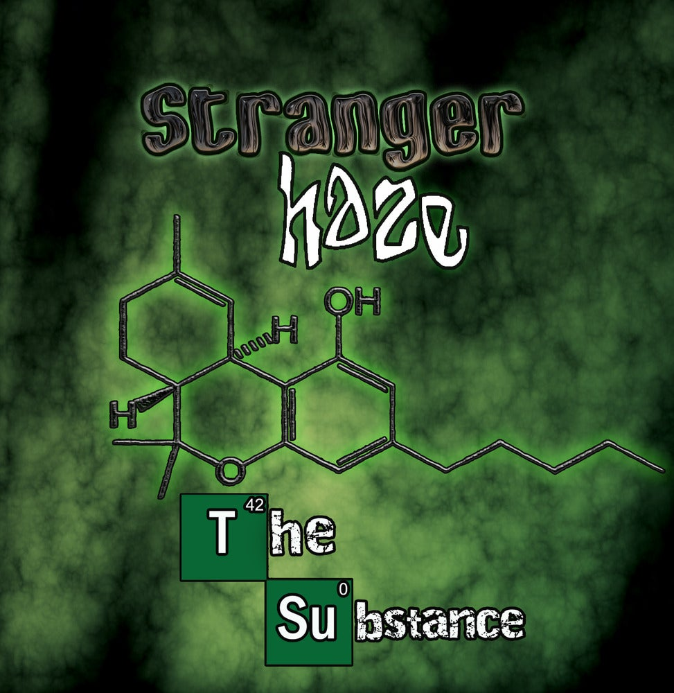 "Image of Stranger Haze ""The Substance"" CD"