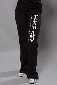 """Image of Women's """"Team Amy"""" Yoga Pants"""