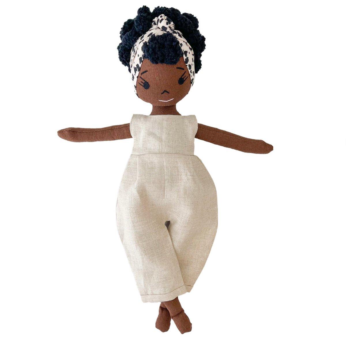 Danika Handmade Linen Doll (Waitlist Preorder Item - ship date Oct 1-Mar 30,2022)