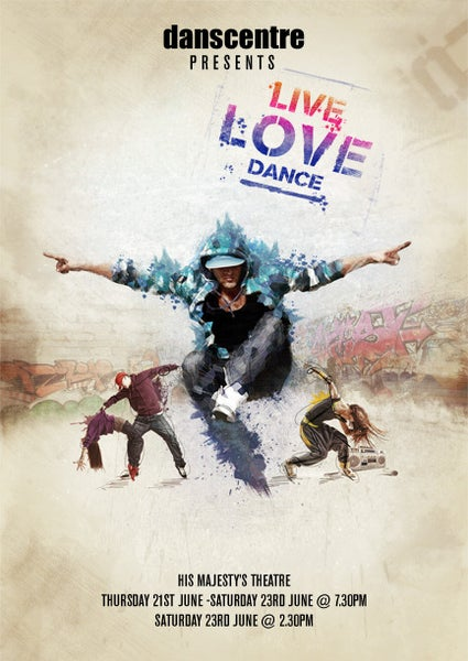 Image of Danscentre - Live Love Dance - 2 Disc DVD