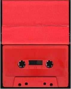 "Image of Michael Jackson ""Red Tape"" cassette"