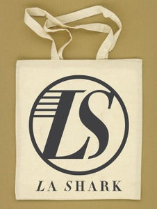 Image of La Shark 100% Organic Long Handle Tote Bag - Slate