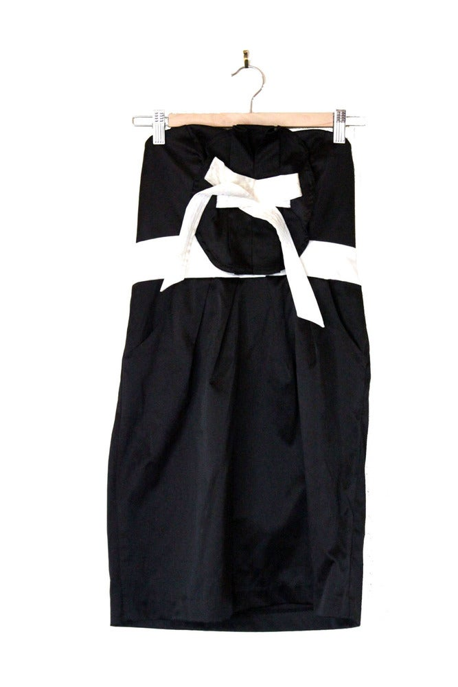 Image of Strapless Cocktail Dress
