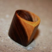 Image of Recycled Mulga Timber Jewelry