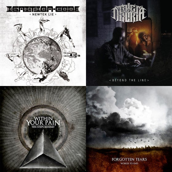 Image of Ignition Code /Tales Of Deliria / Forgotten Tears / Within Your Pain