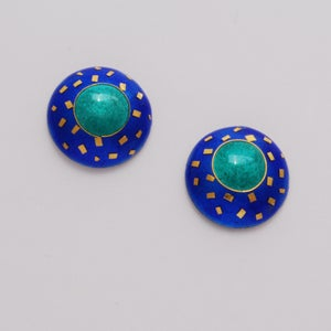 Image of Small round earrings