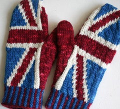 Image of Johnny Rotten Anarchy Mittens