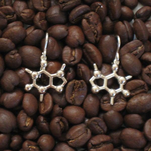 Image of caffeine earrings