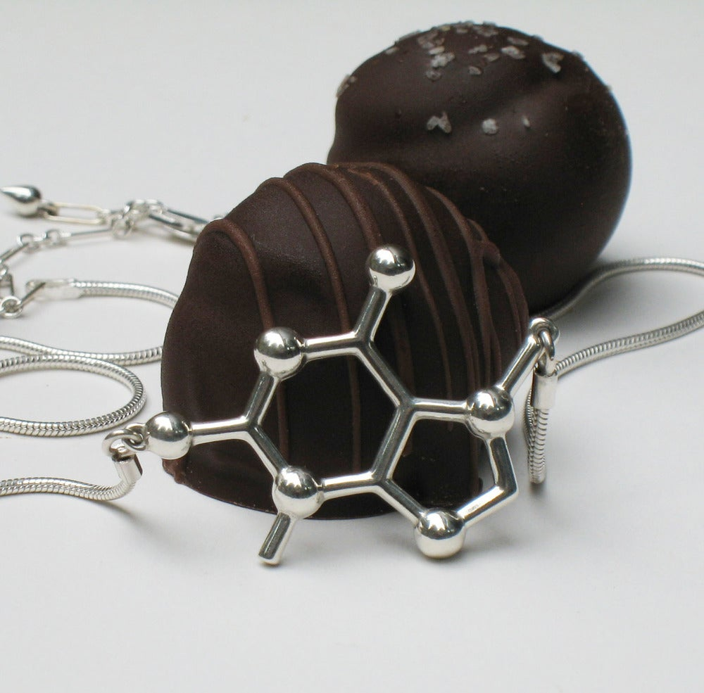 Image of theobromine necklace