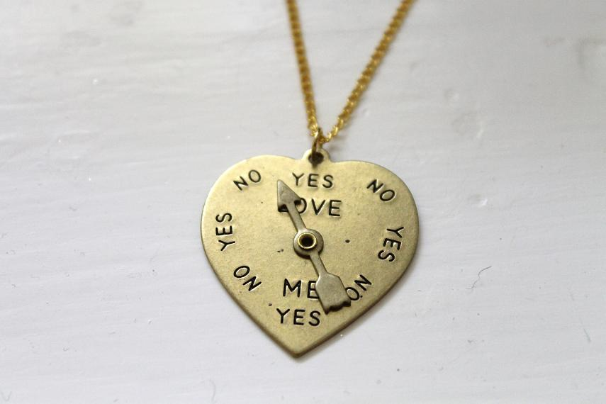 Image of Love Spinner Necklace (ORIGINALLY $20)