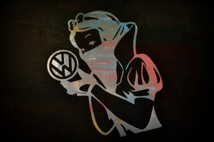 Image of GANGSTARELLA VW DECAL!