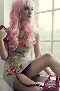 Image of Kaleidoscope Print Dress