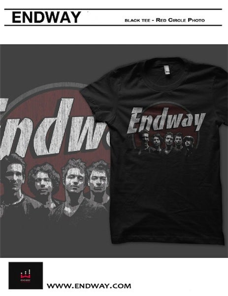 Image of Endway Red Circle T-Shirt