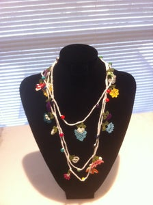 "Image of OYA-""Tig Embroidery"" Necklace"