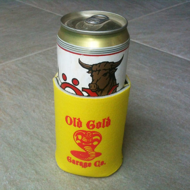 "Image of NEW! Old Gold ""Cobra King"" beer coozies! FREE S&H*"