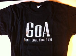 Image of Don't Lose Your Love T-Shirt (Black)