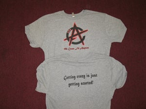 Image of The original 586 CrossFit Asylum logo T-shirt