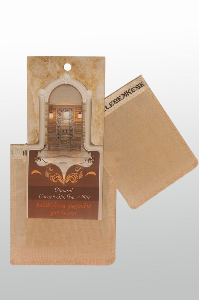 Image of Pure Silk Kese-For Face-Sensitive Skin