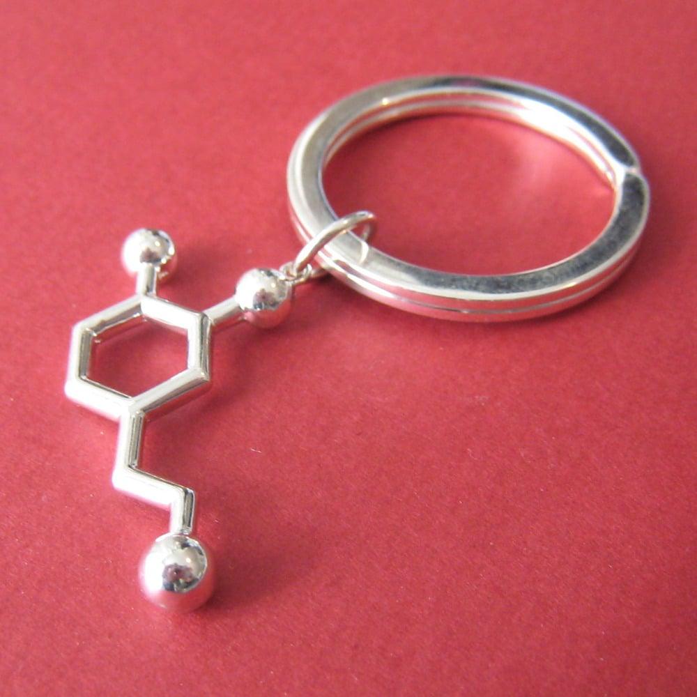 Image of dopamine keychain