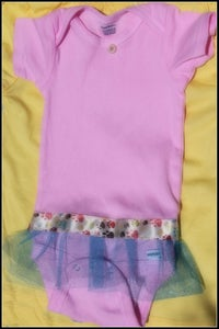 Image of Tutu onesie