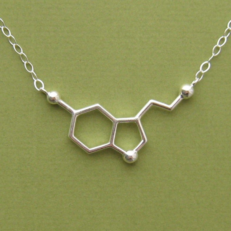 Image of serotonin necklace - link